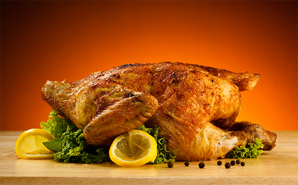 roast chicken to replace rotisere