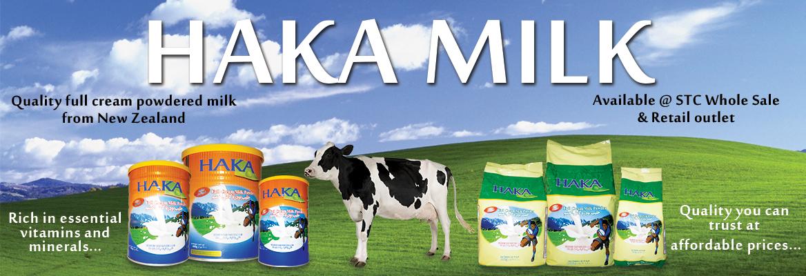Haka milkWEB